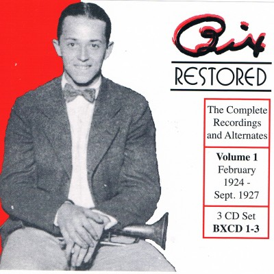 Bix Restored, Vol. 1