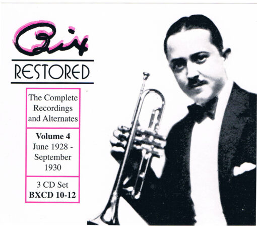 Bix Restored, Vol. 4-edited