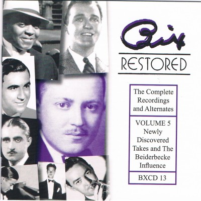 Bix Restored, Vol. 5